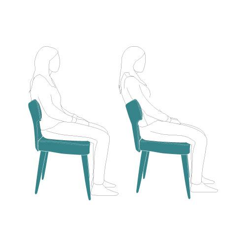 Respaldo flexible