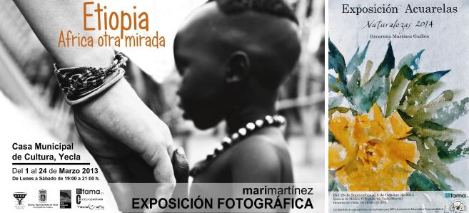 Exposiciones Fotográficas y de pintura
