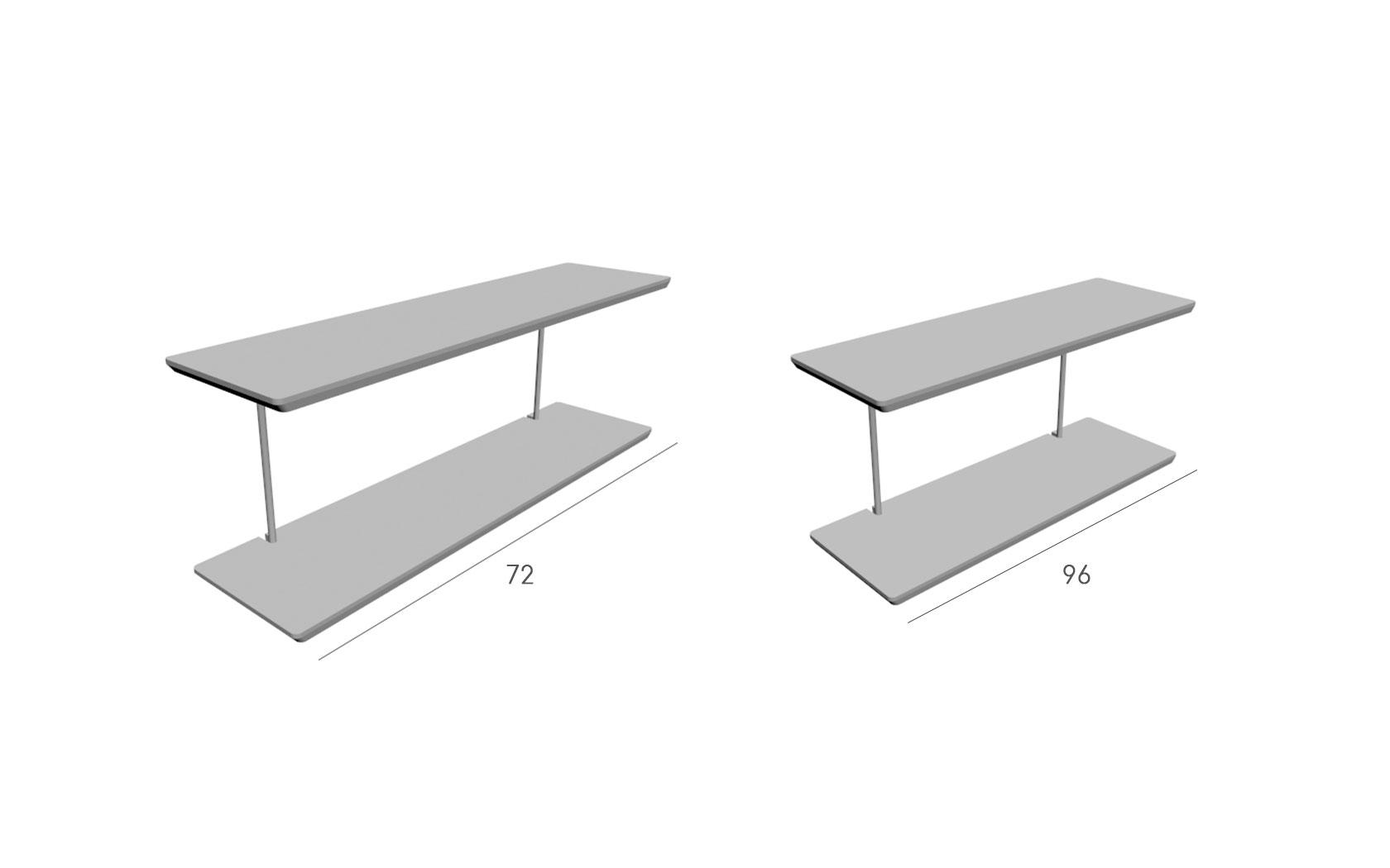 Mesa estantes Klee
