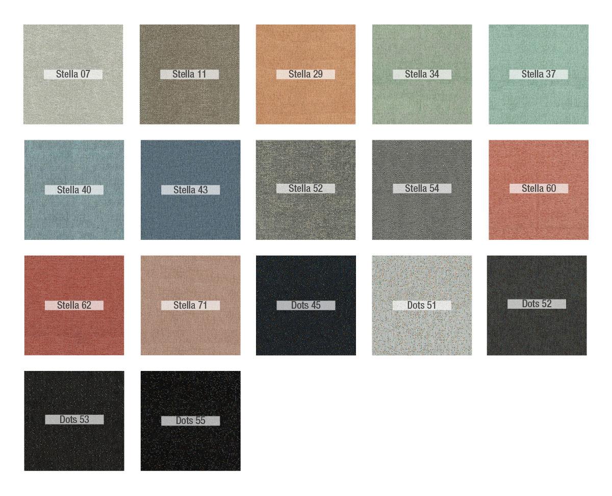 Colores Stella-Dots tela Fama 2020
