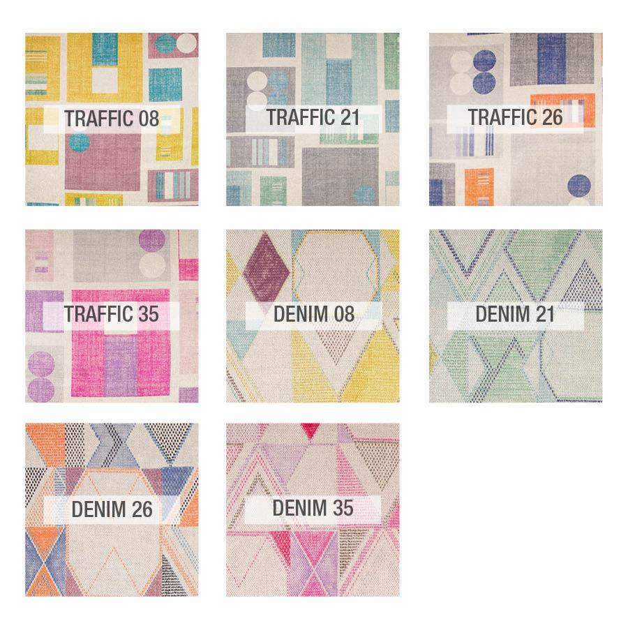 Traffic colores tela fama