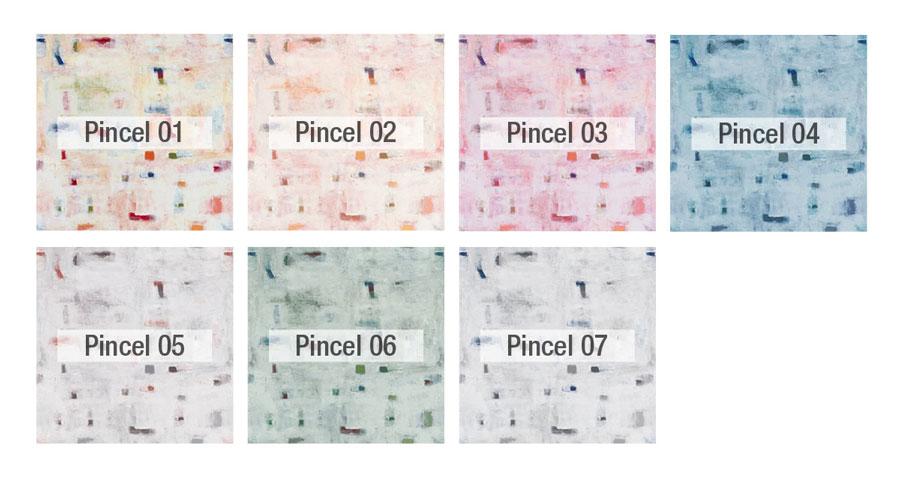 Pincel colores tela Fama 2020 - PINCEL