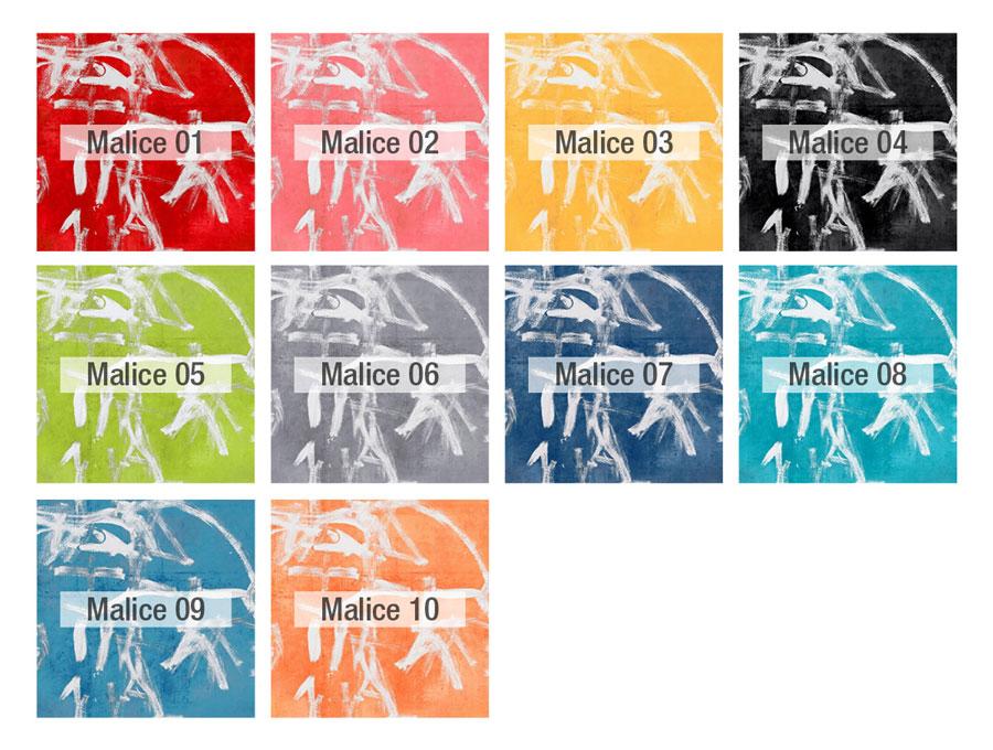 Pincel colores tela Fama 2020 - MALICE