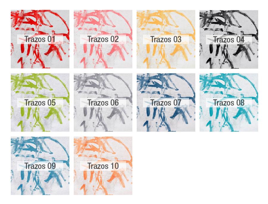 Pincel colores tela Fama 2020 - TRAZOS