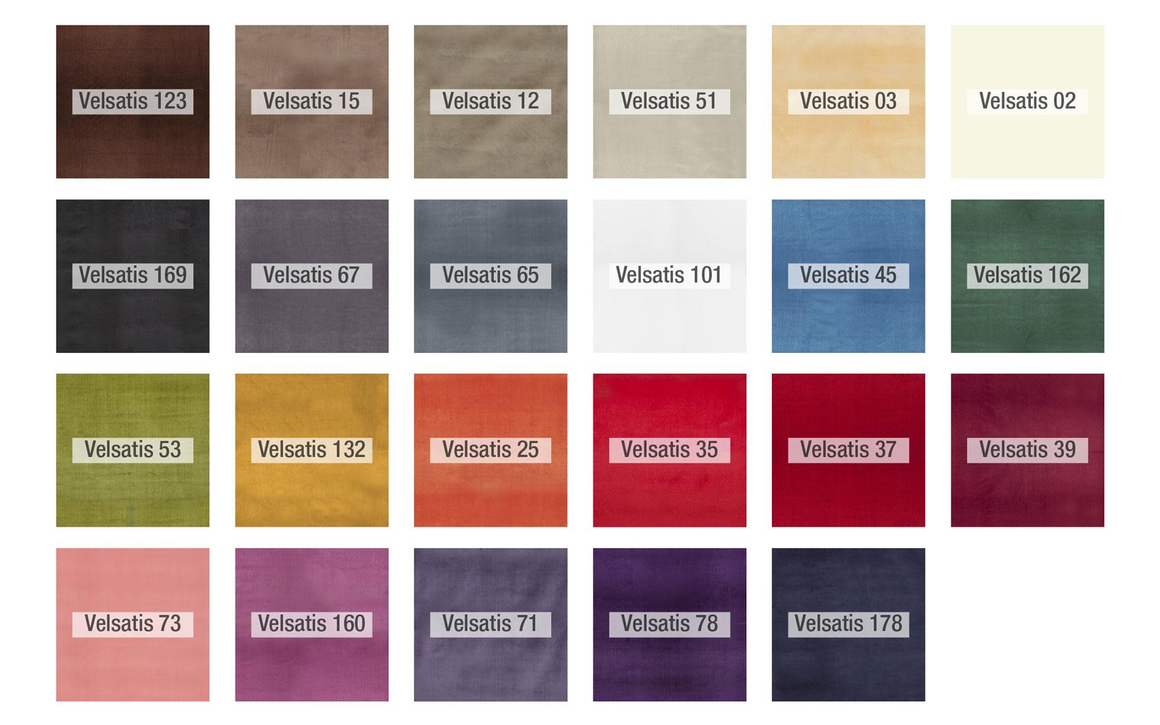 Colores Velsatis tela Fama 2020