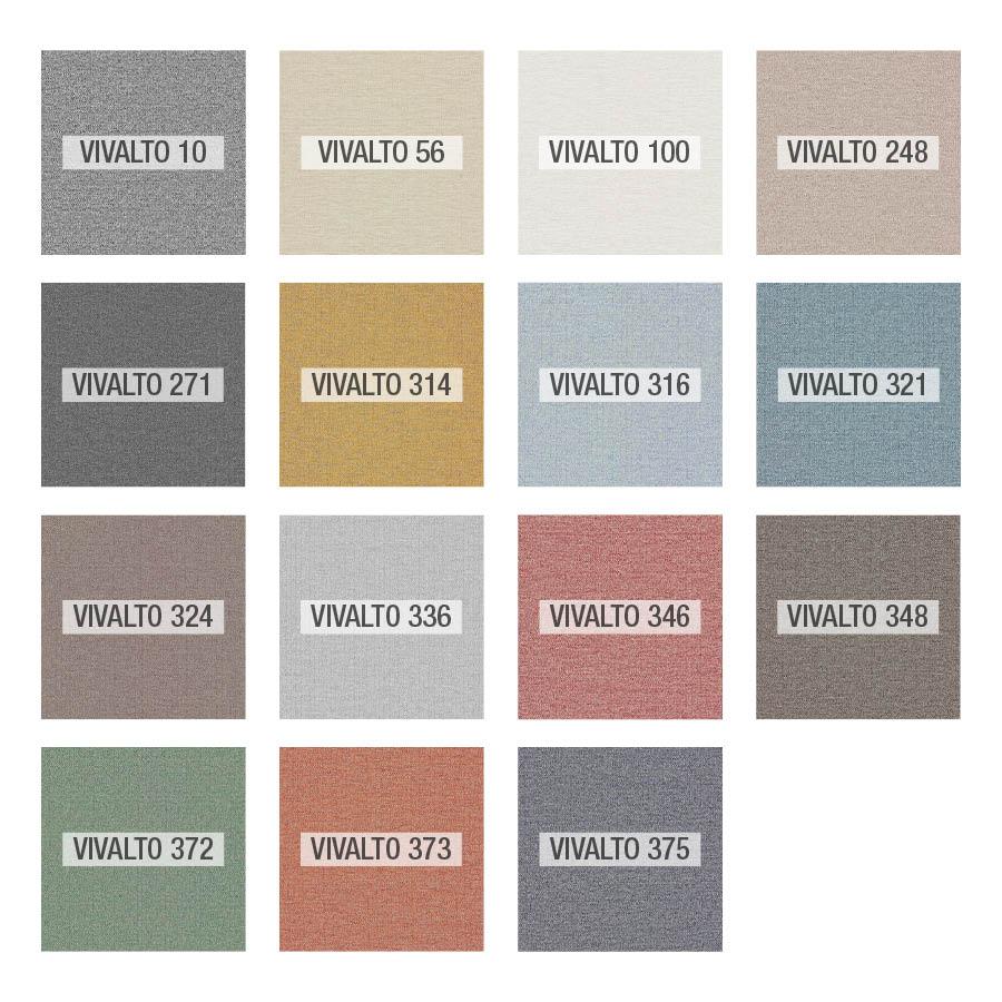 Vivalto colores tela Fama 2020