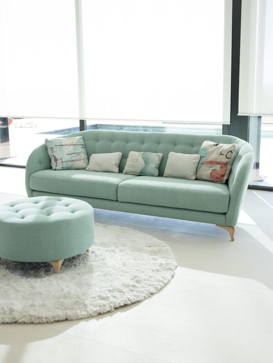 Tonalidades aguamarina sofas y sillones Fama 01
