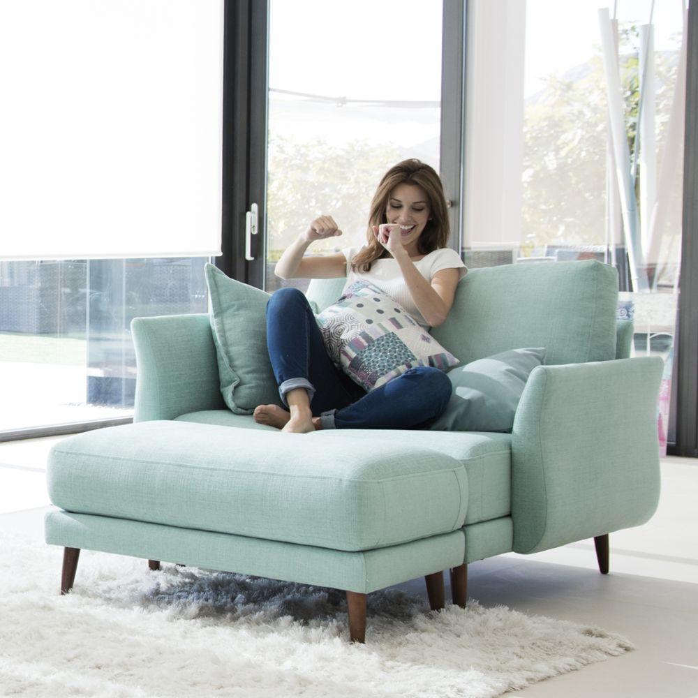 Tonalidades aguamarina sofas y sillones Fama 03