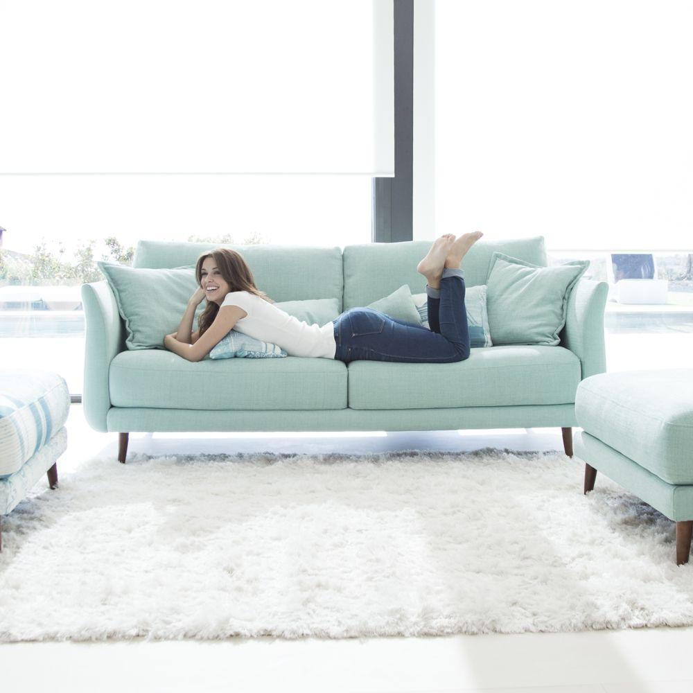 Tonalidades aguamarina sofas y sillones Fama 16