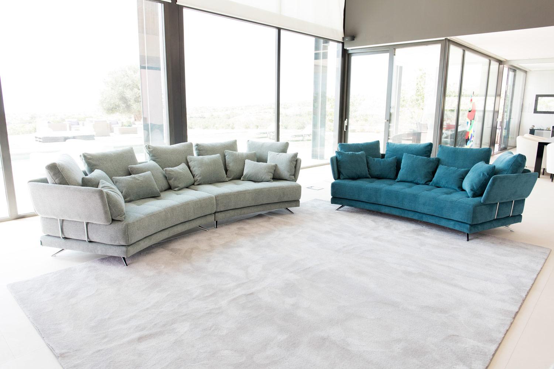 Tonalidades aguamarina sofas y sillones Fama 02