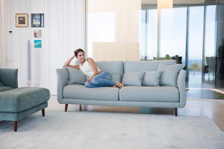 Tonalidades aguamarina sofas y sillones Fama 04