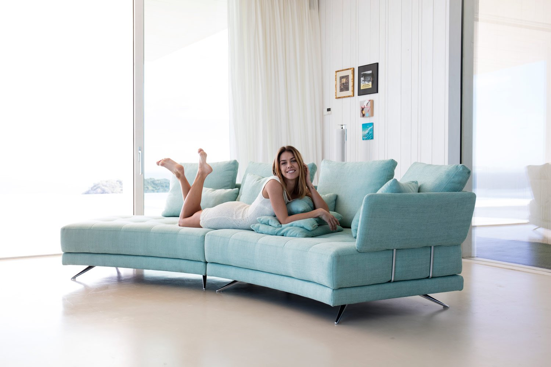 Tonalidades aguamarina sofas y sillones Fama 07