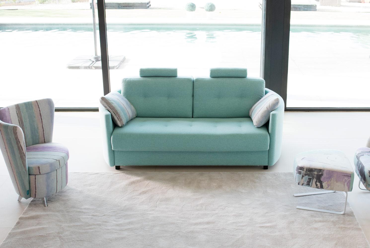 Tonalidades aguamarina sofas y sillones Fama 15