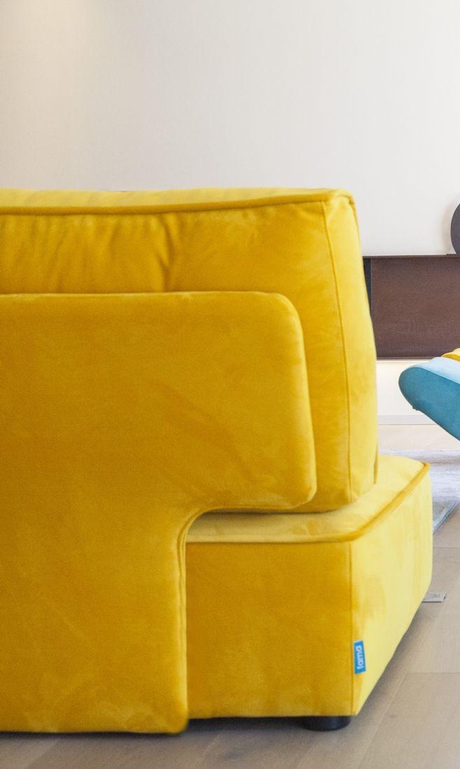 Tonalidades amarillo sofas y sillones Fama 02