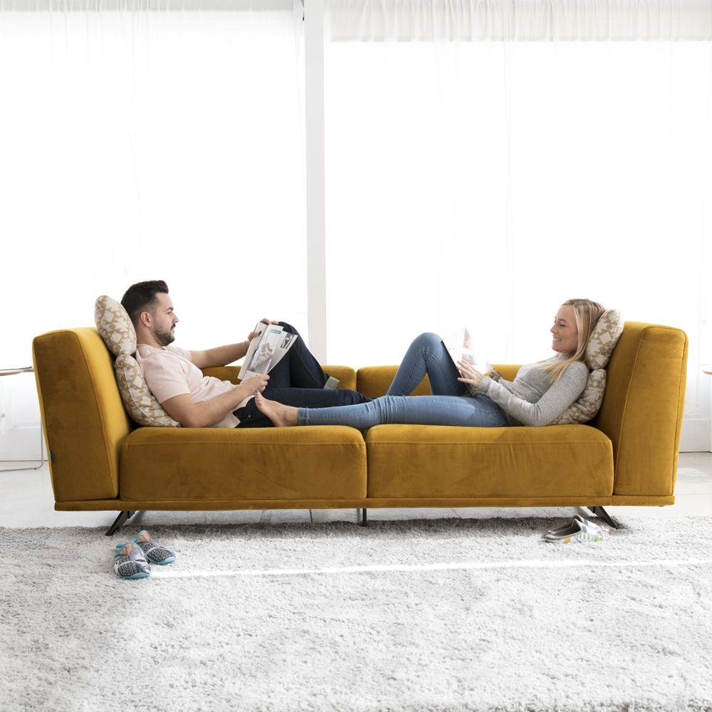 Tonalidades amarillo sofas y sillones Fama 05