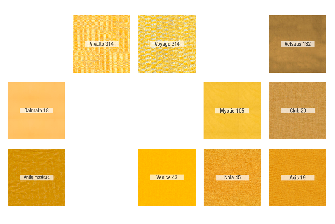 Inspiración Amarillo - Tapicerias 1