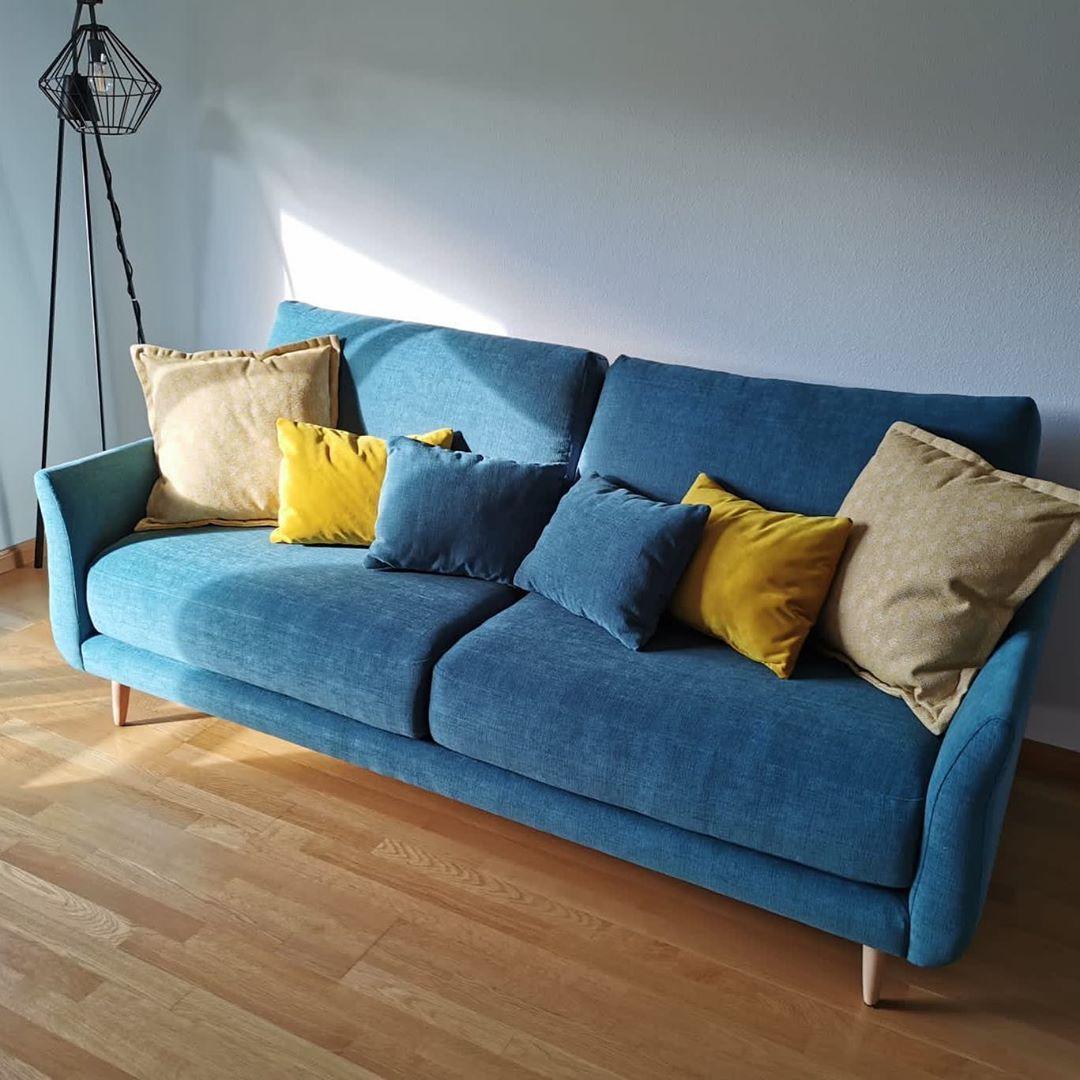 Tonalidades azules sofas y sillones Fama 01