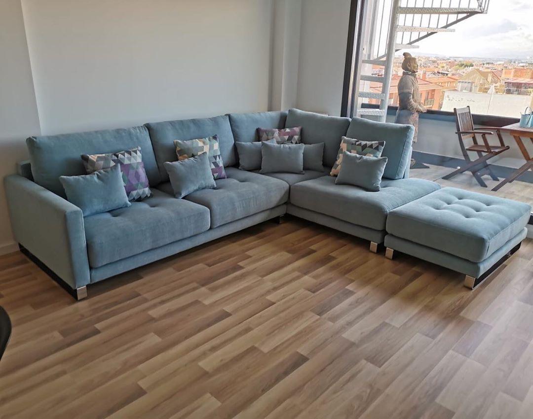 Tonalidades azules sofas y sillones Fama 06