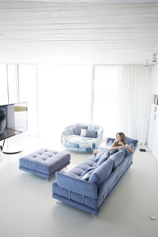 Tonalidades azules sofas y sillones Fama 14