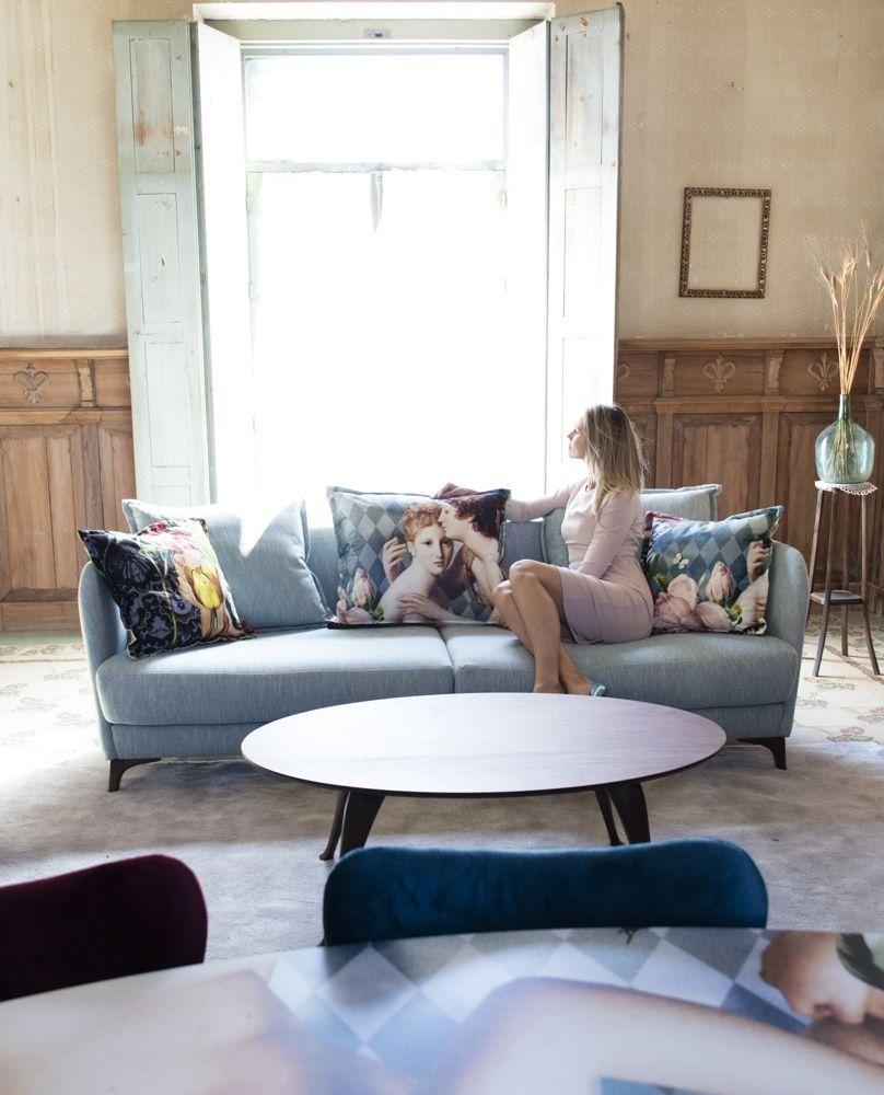 Tonalidades azules sofas y sillones Fama 16