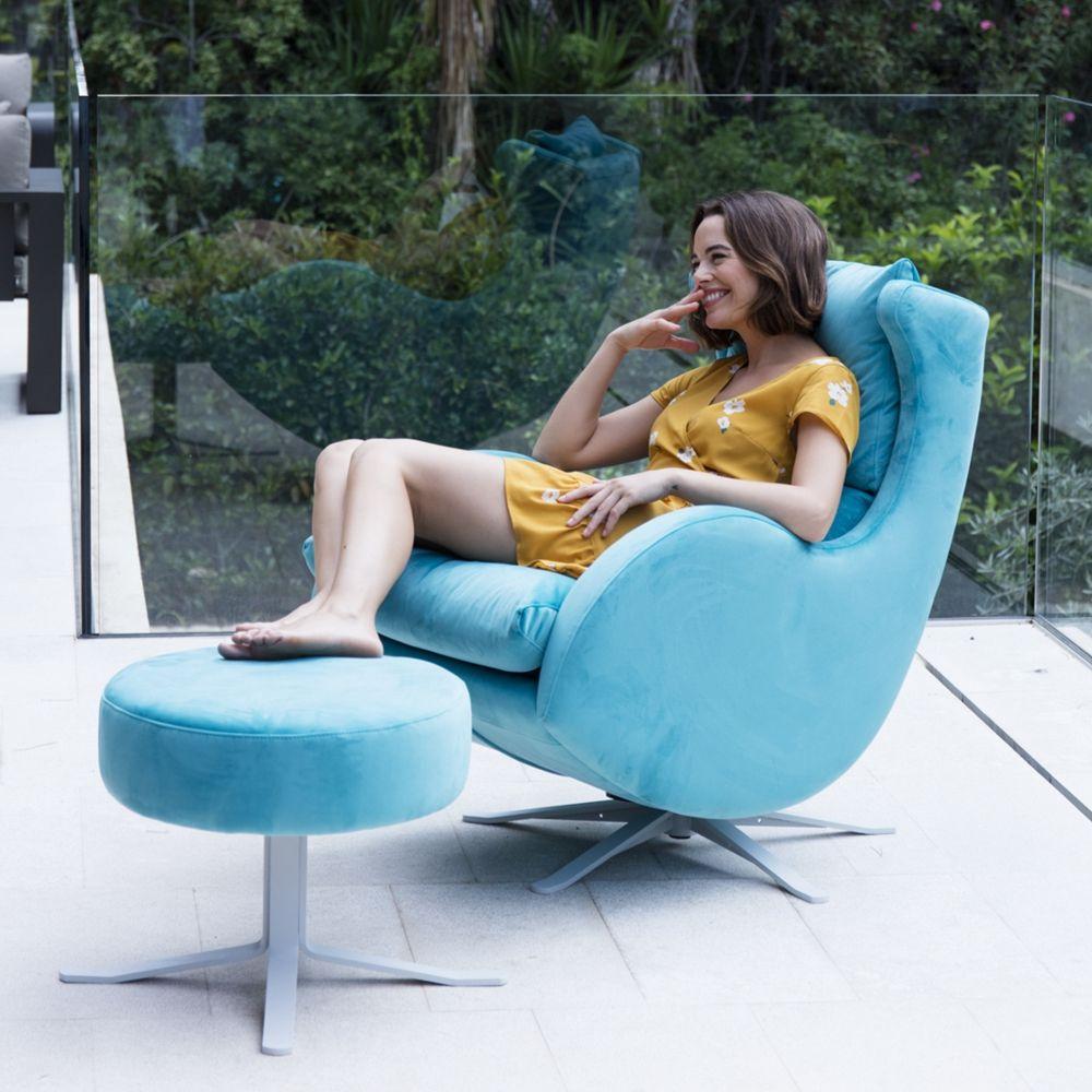 Tonalidades azules sofas y sillones Fama 18