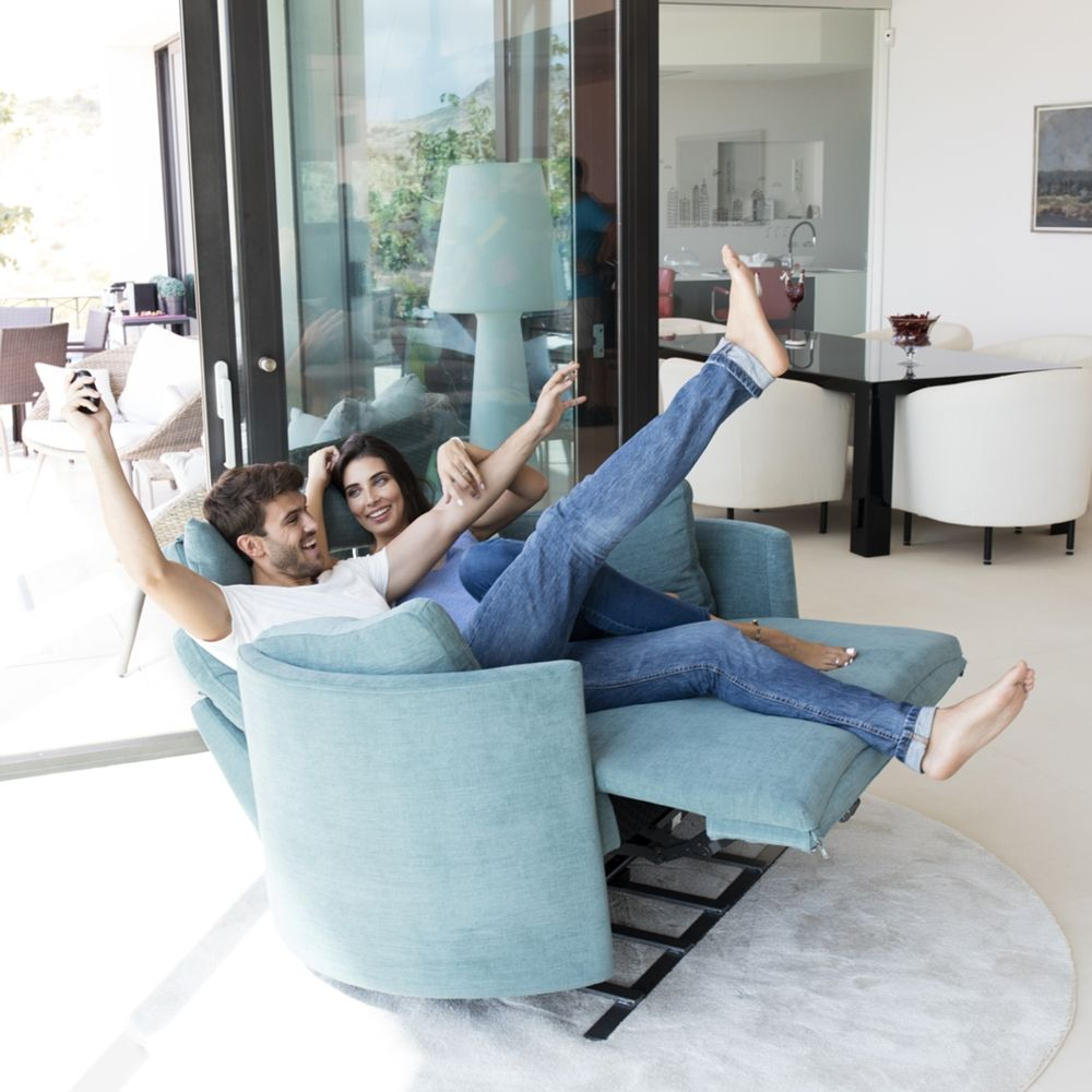 Tonalidades azules sofas y sillones Fama 19