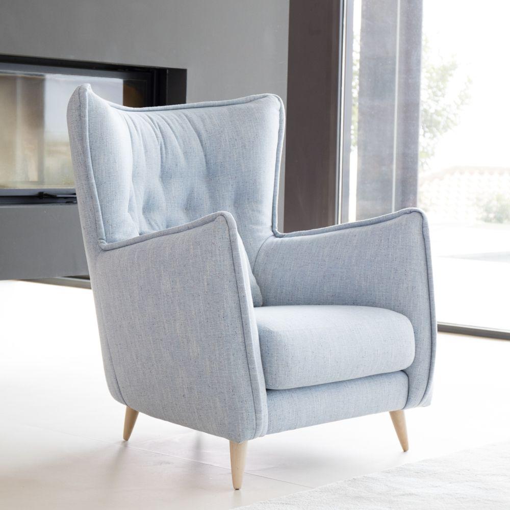 Tonalidades azules sofas y sillones Fama 23