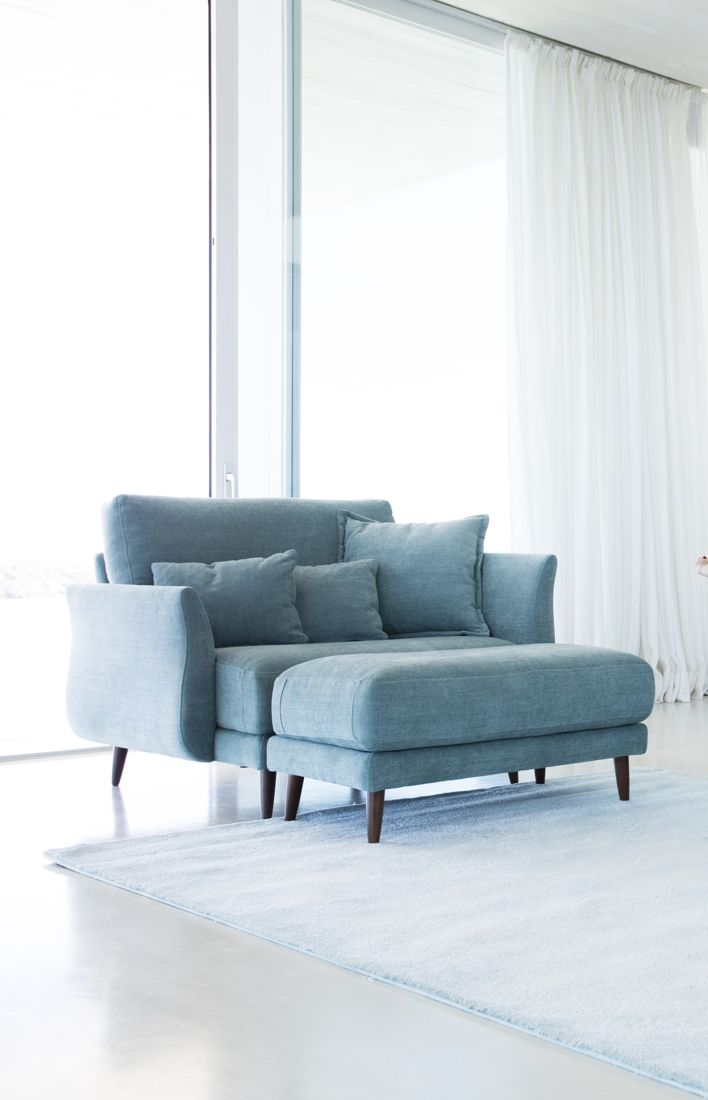 Tonalidades azules sofas y sillones Fama 29