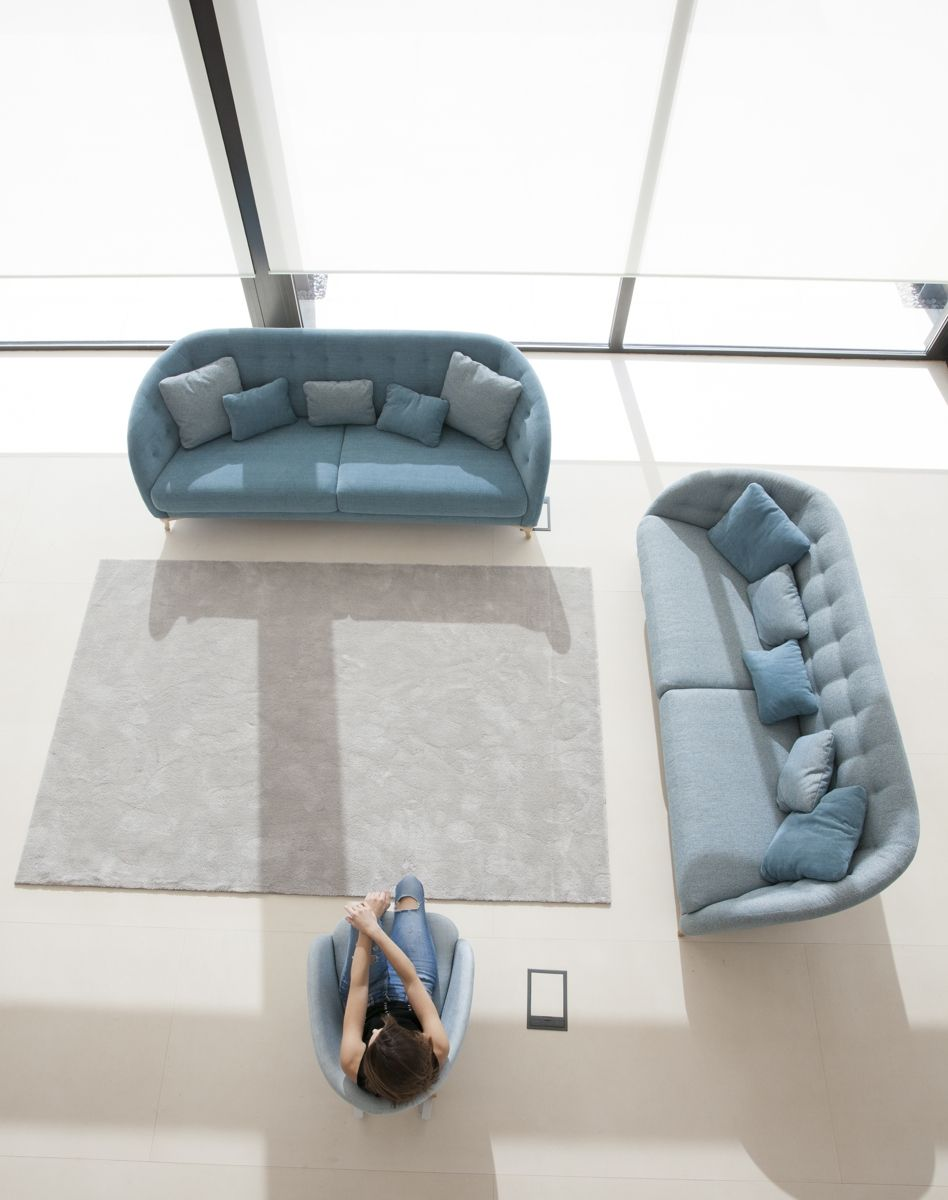 Tonalidades azules sofas y sillones Fama 31
