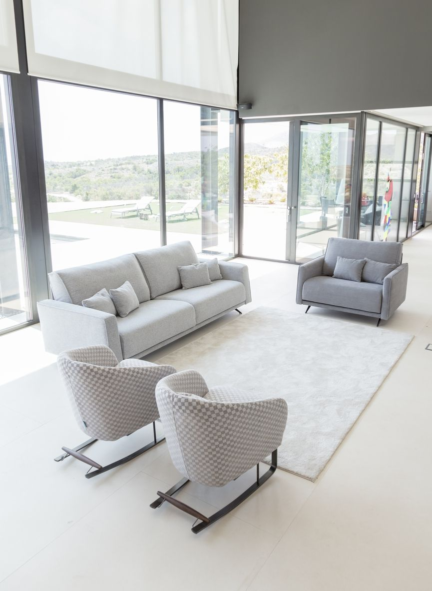 Tonalidades grises sofas y sillones Fama 09