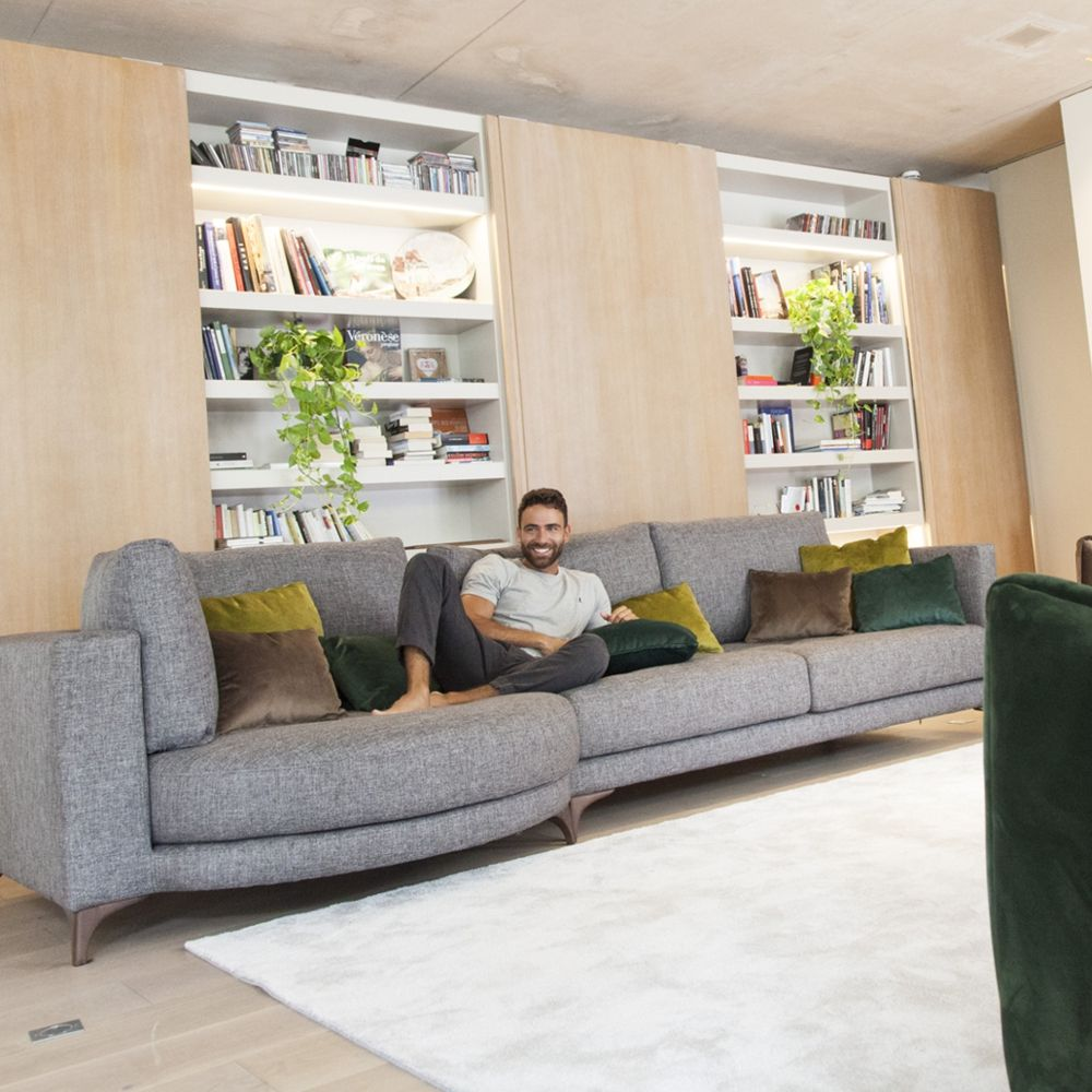 Tonalidades grises sofas y sillones Fama 15