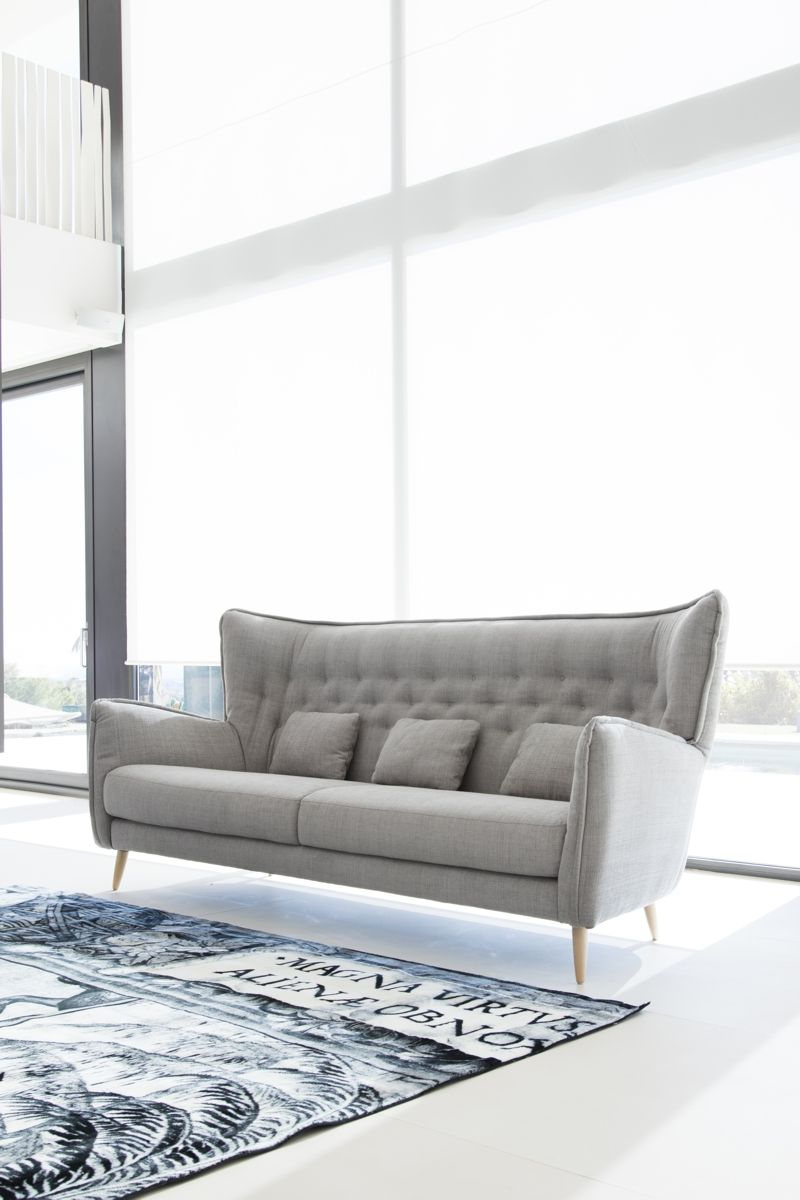 Tonalidades grises sofas y sillones Fama 17