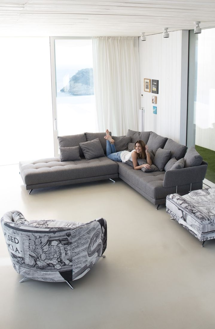Tonalidades grises sofas y sillones Fama 21