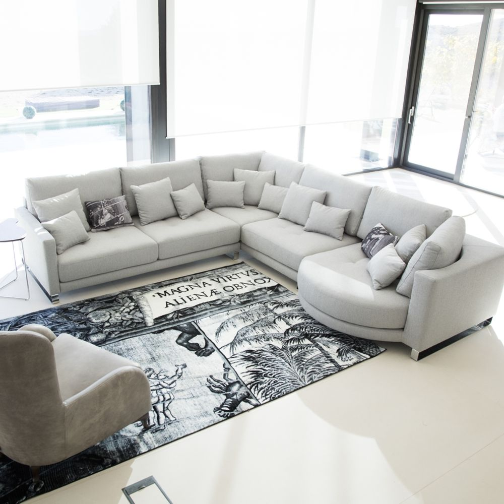 Tonalidades grises sofas y sillones Fama 22