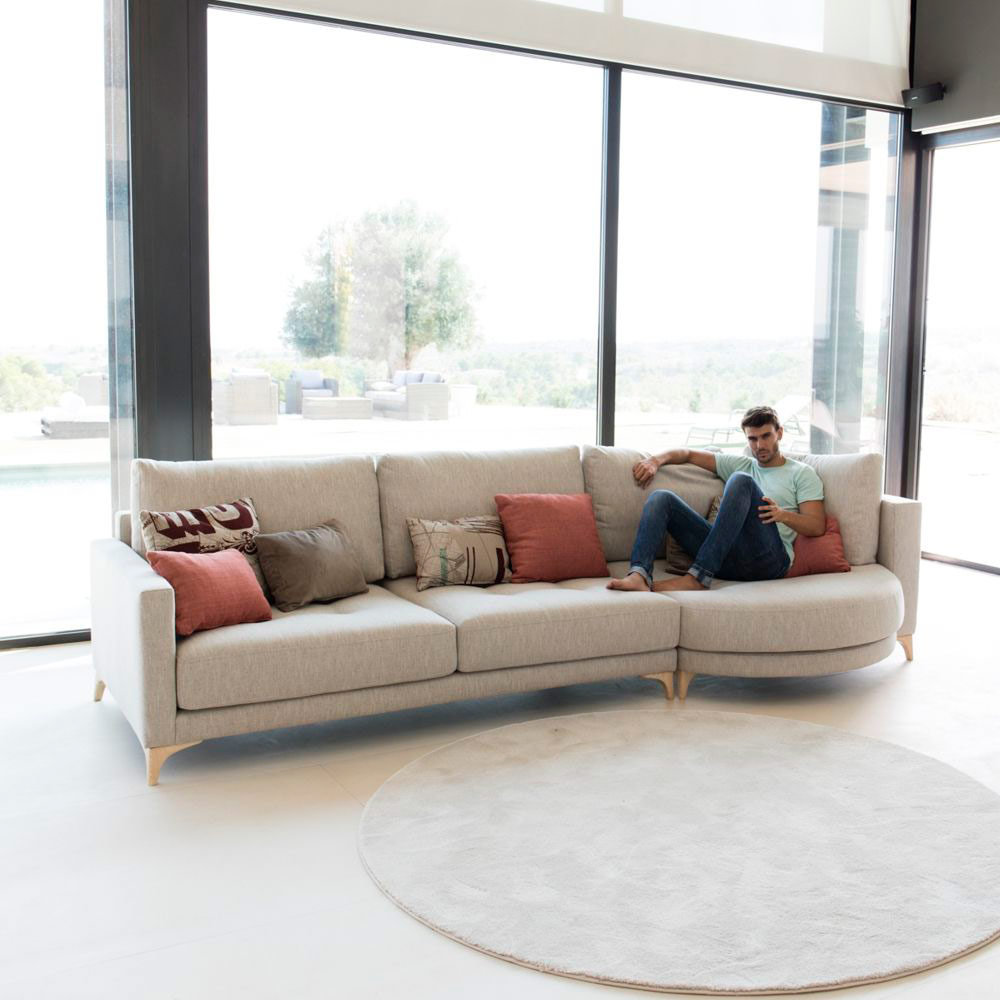 Tonalidades marron y beige sofas y sillones Fama 02
