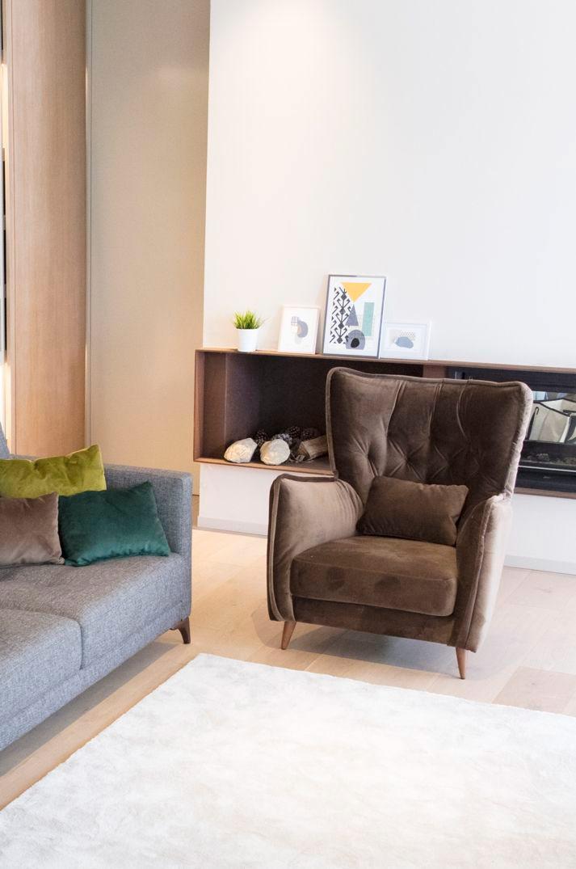 Tonalidades marron y beige sofas y sillones Fama 07