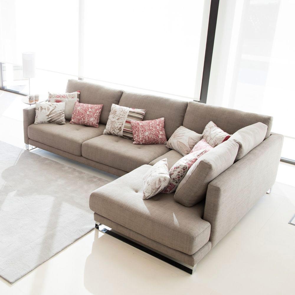 Tonalidades marron y beige sofas y sillones Fama 10