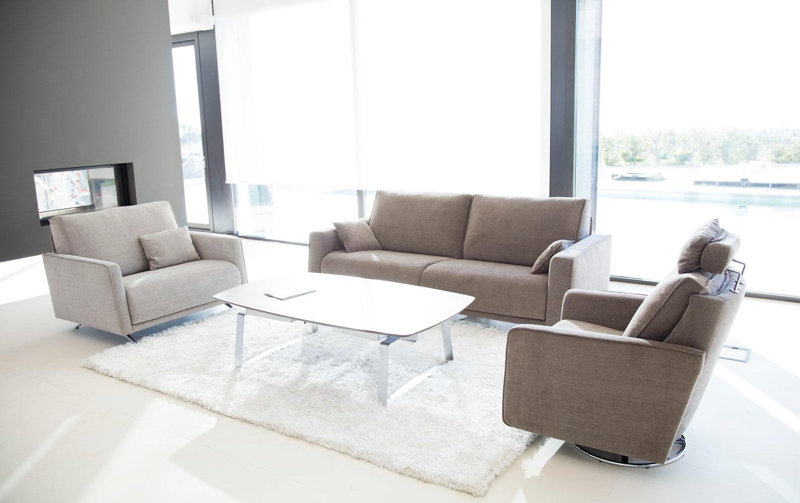 Tonalidades marron y beige sofas y sillones Fama 15