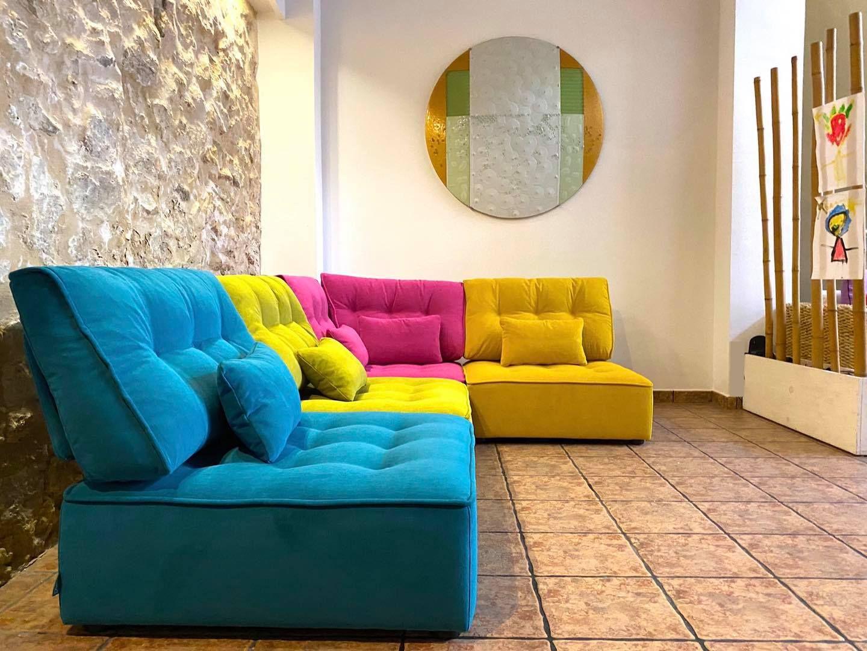 Multicolor sofas y sillones Fama 27
