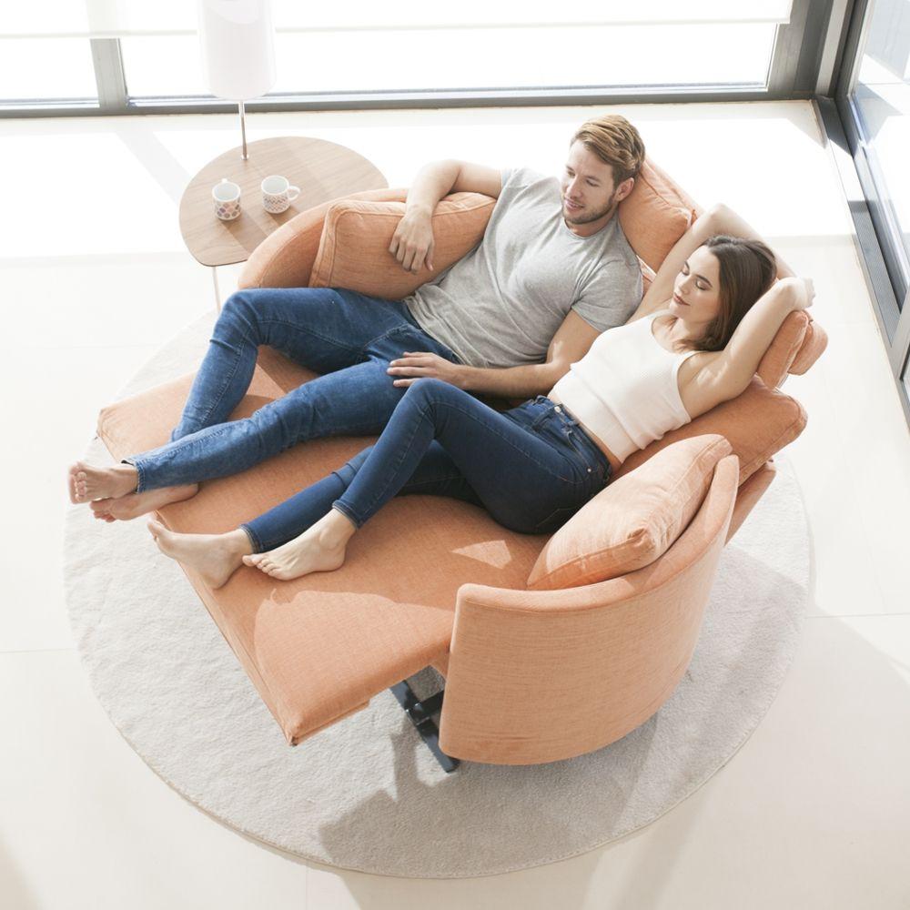 Tonalidades naranjas sofas y sillones Fama 02