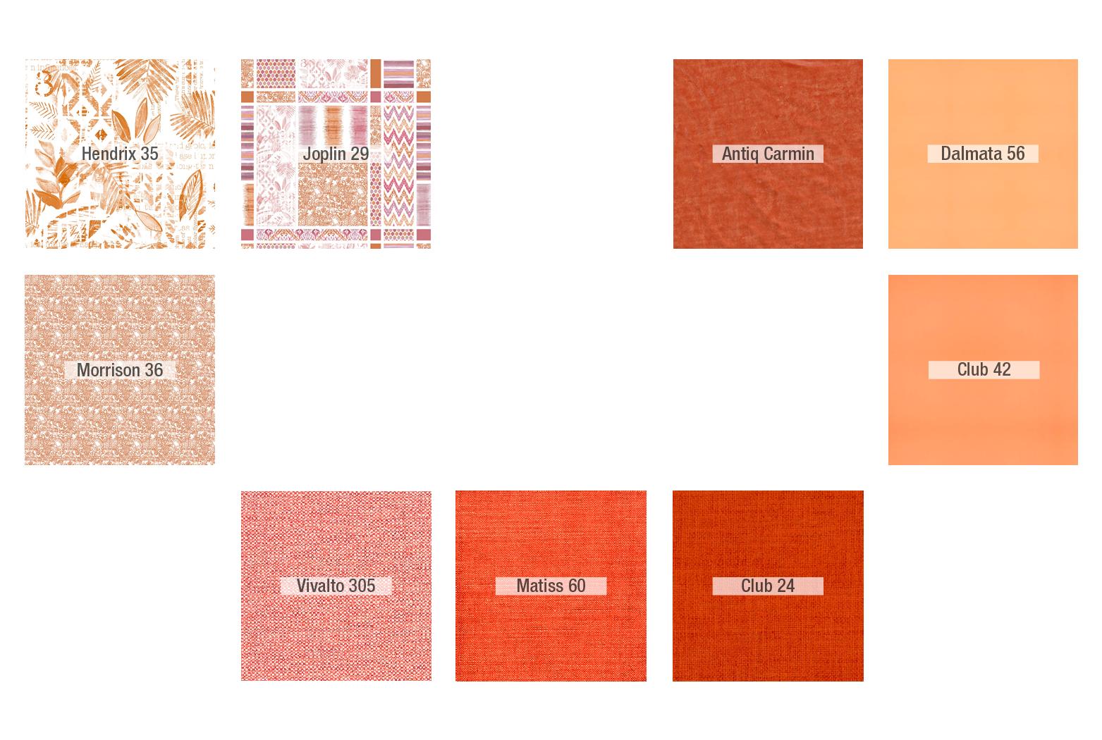 Inspiración Naranja - Tapicerias 1