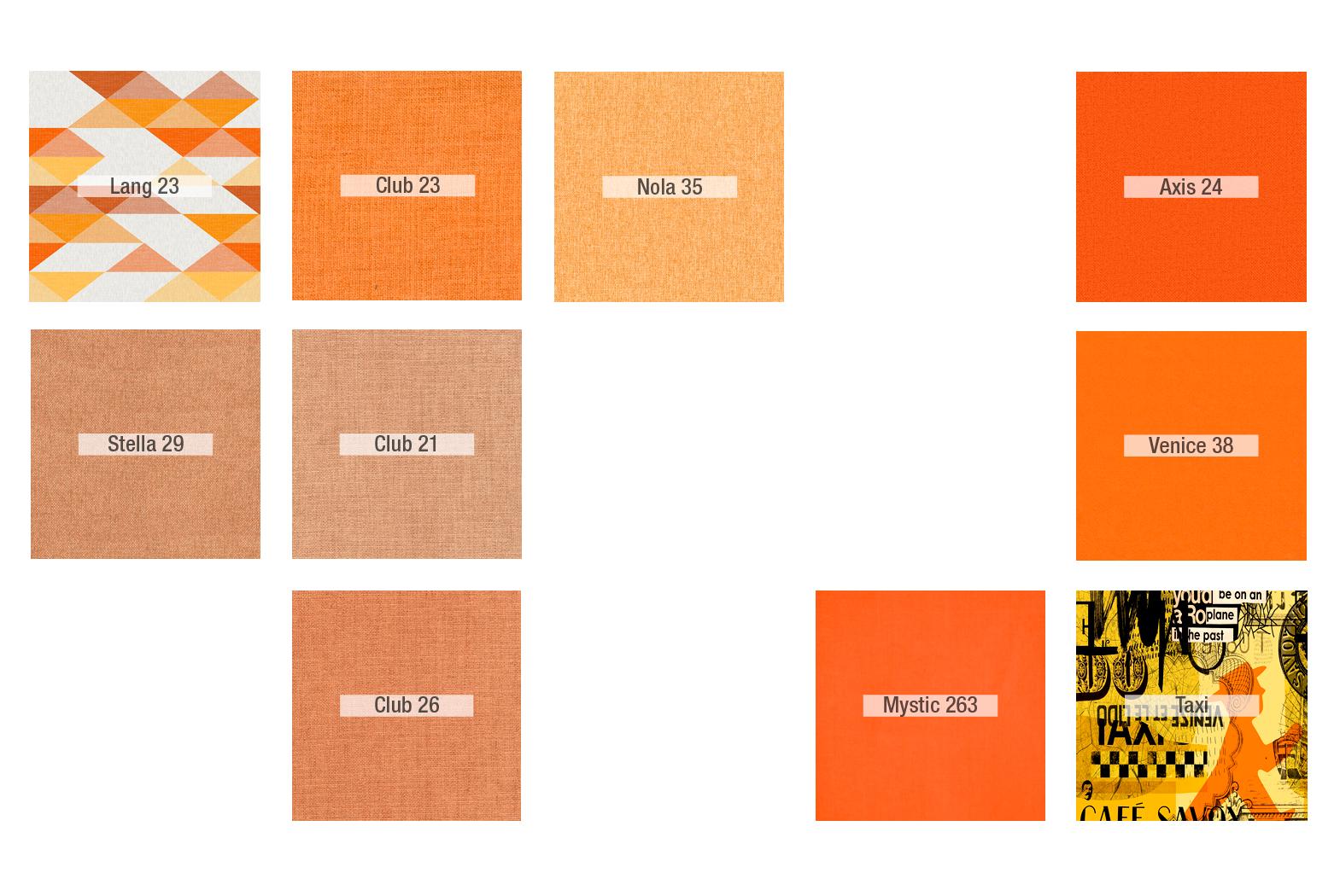 Inspiración Naranja - Tapicerias 2