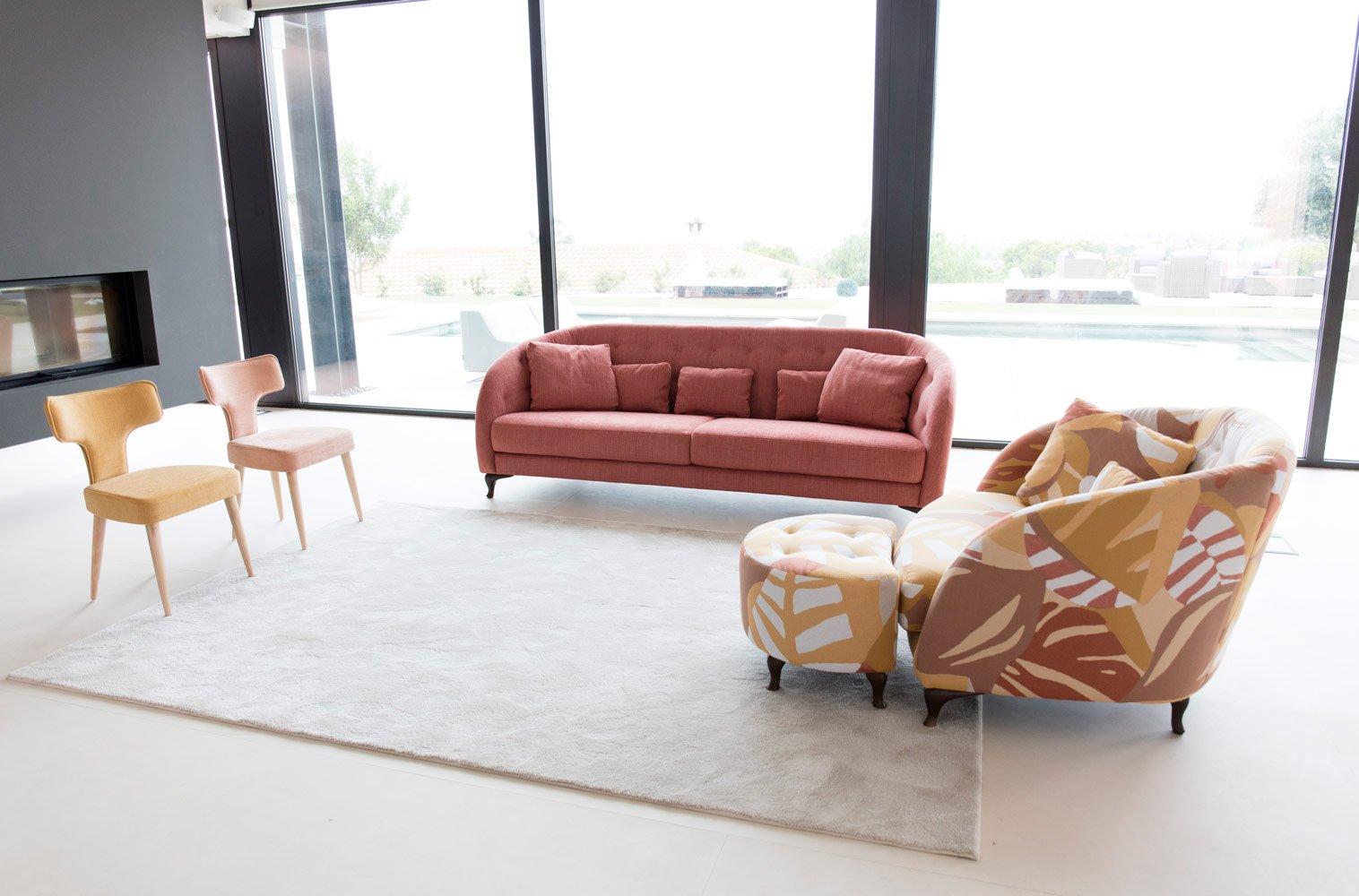 Tonalidades naranjas sofas y sillones Fama 15