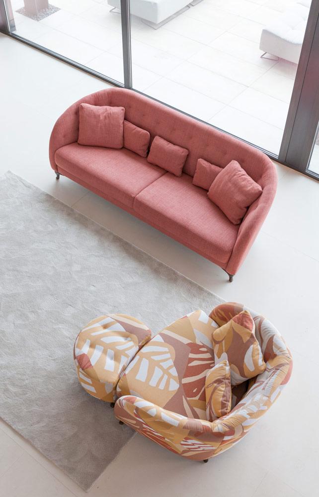 Tonalidades naranjas sofas y sillones Fama 16