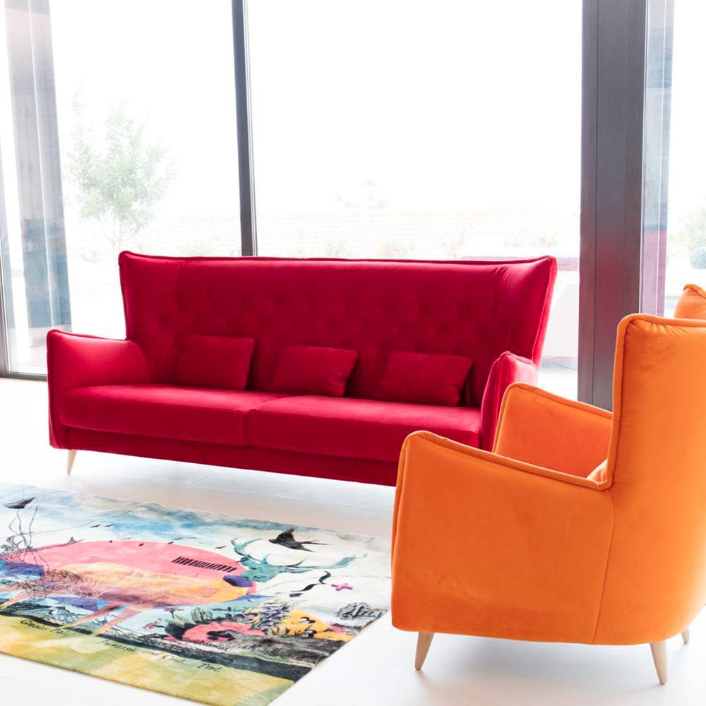 Tonalidades rojo sofas y sillones Fama 02
