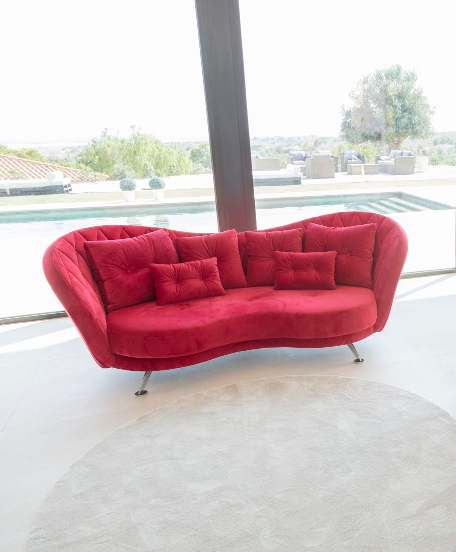 Tonalidades rojo sofas y sillones Fama 03