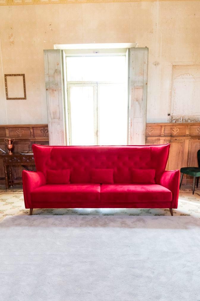 Tonalidades rojo sofas y sillones Fama 04