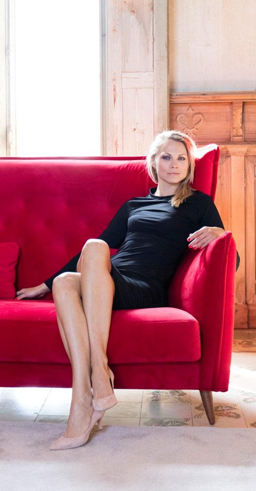 Tonalidades rojo sofas y sillones Fama 05