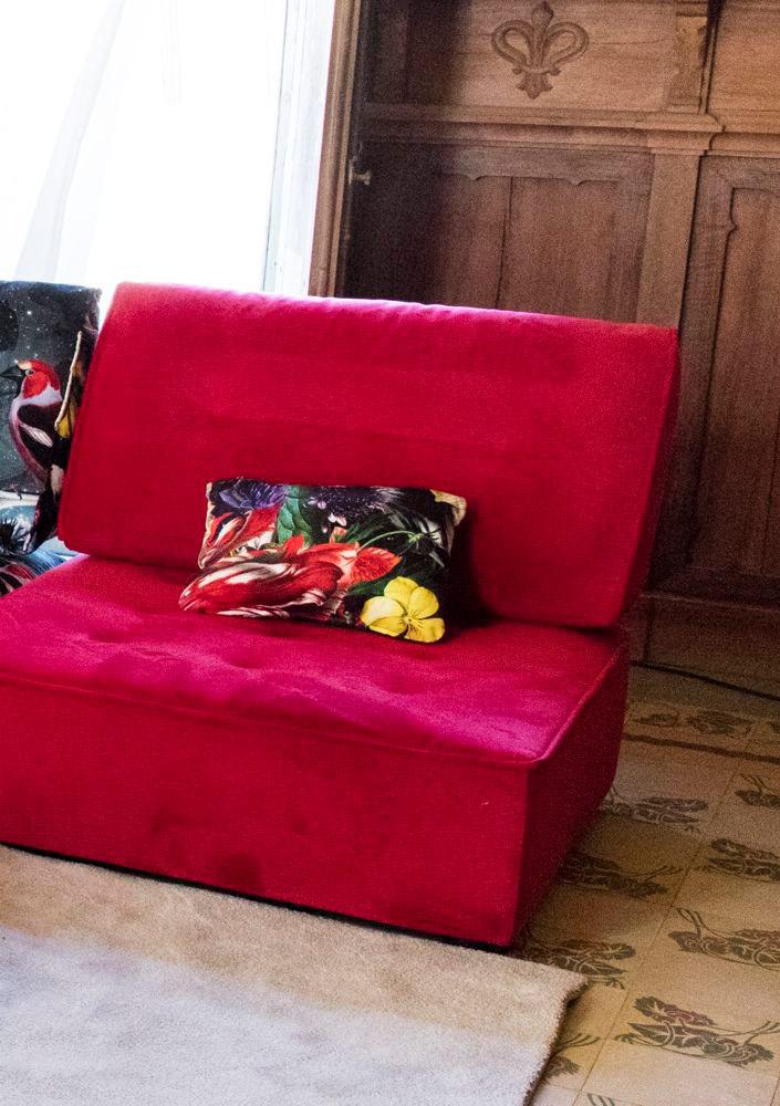 Tonalidades rojo sofas y sillones Fama 07