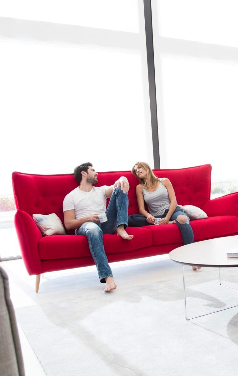 Tonalidades rojo sofas y sillones Fama 08